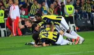 Esultanza-Fenerbahçe