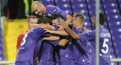 Esultanza-Fiorentina