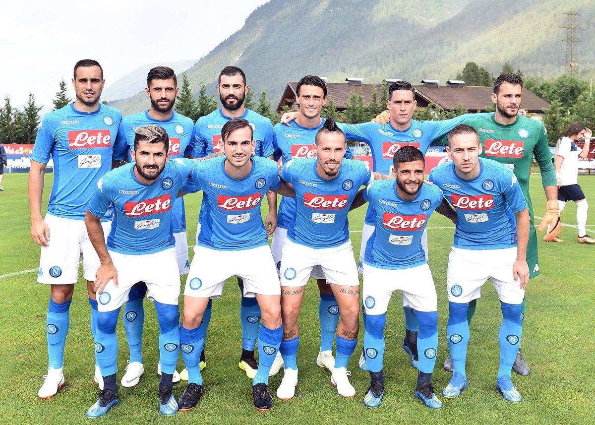 Napoli: Prima uscita stagionale di Ancelotti con 4 goal ! Jorginho è del Chelsea