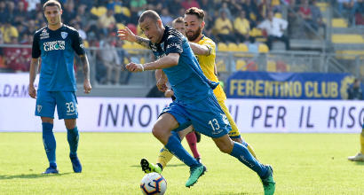 Frosinone-Empoli 3-3