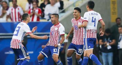 Copa America: Paraguay-Qatar 2-2 (Mediaset)