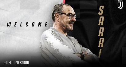 Ufficiale: Sarri è il nuovo allenatore della Juventus