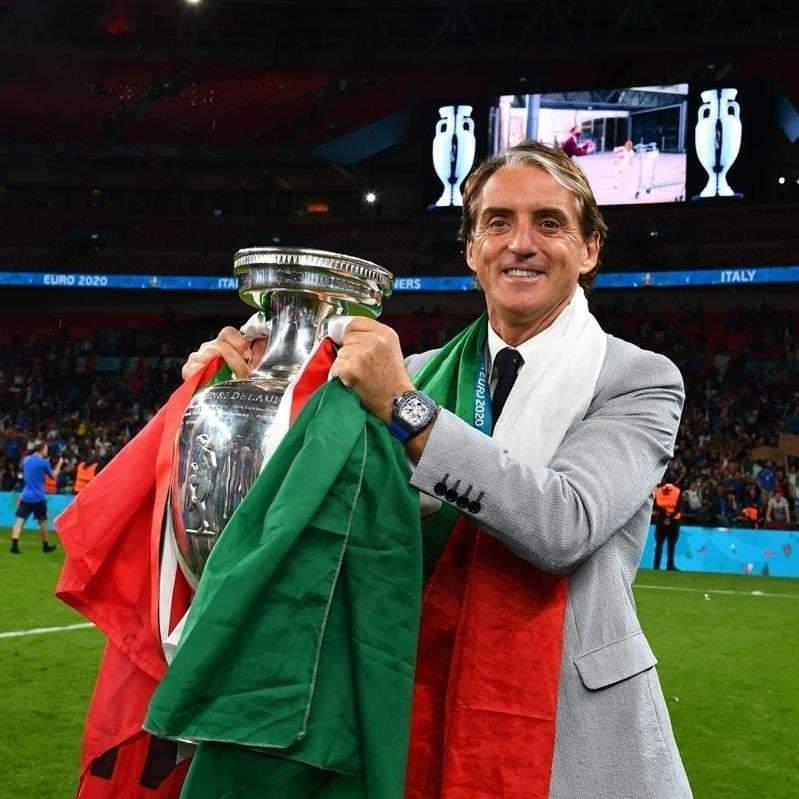 Mancini, la vittoria è solo tua